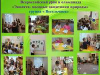Всероссийский урок и олимпиада «Эколята- молодые защитники природы»